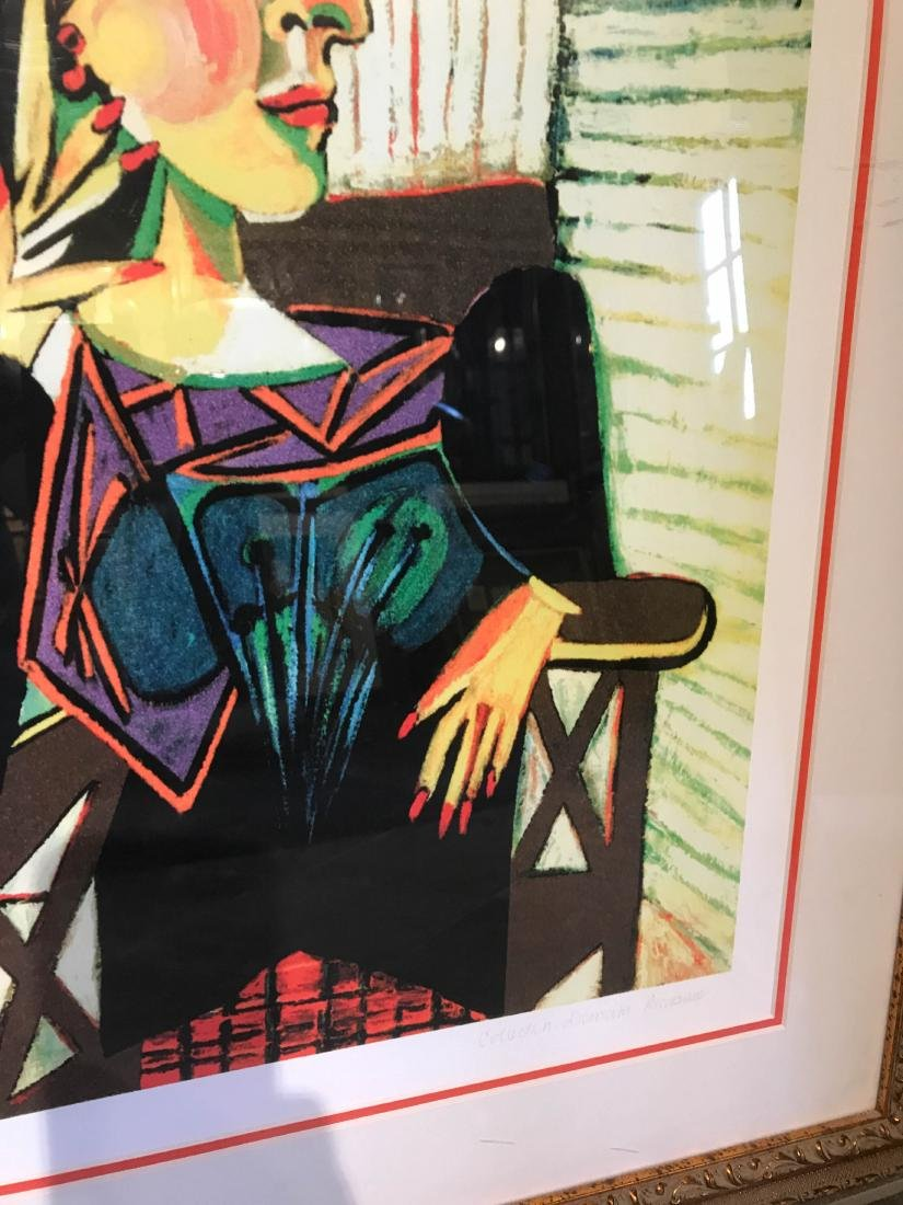 """""""Portrait of Dora Naar Seated"""" Print by Picasso - 4"""