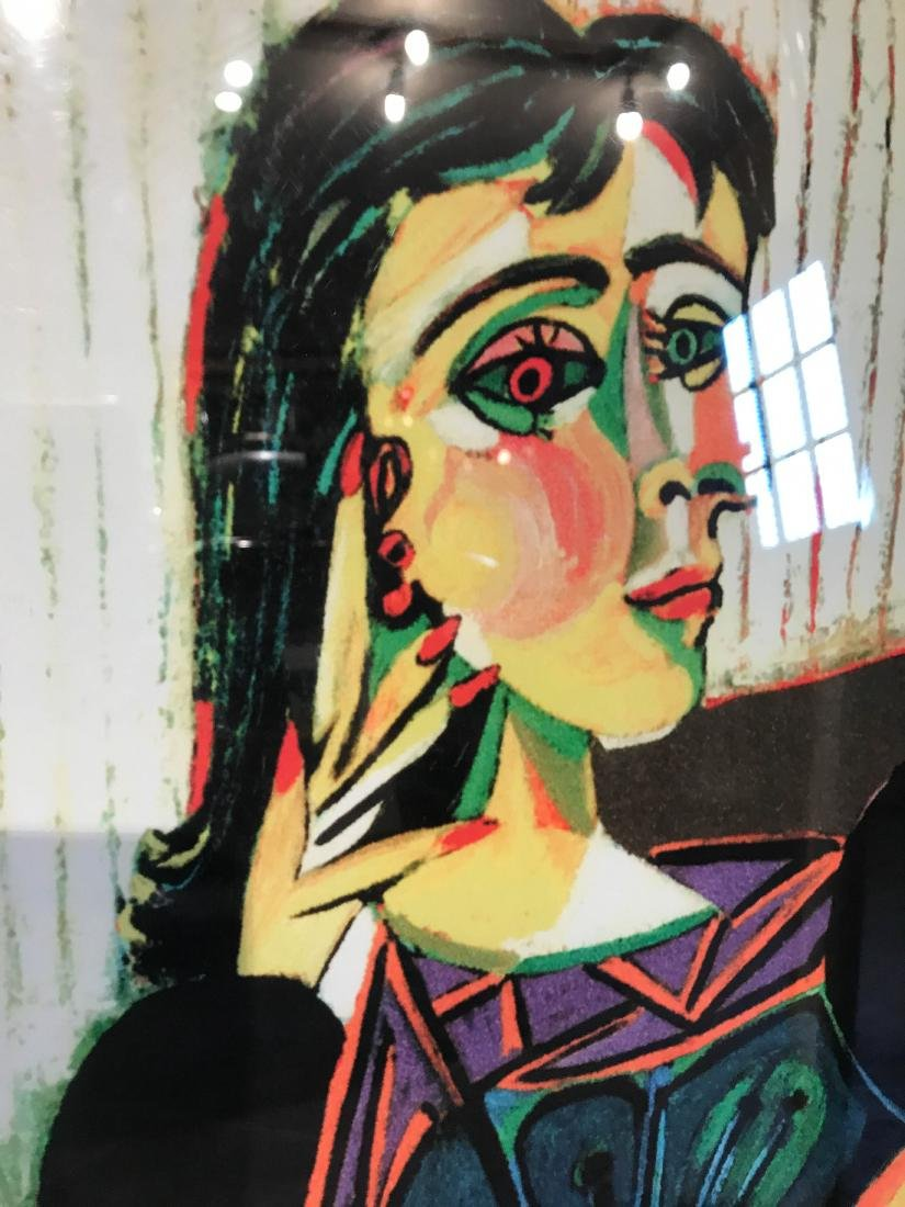 """""""Portrait of Dora Naar Seated"""" Print by Picasso - 6"""