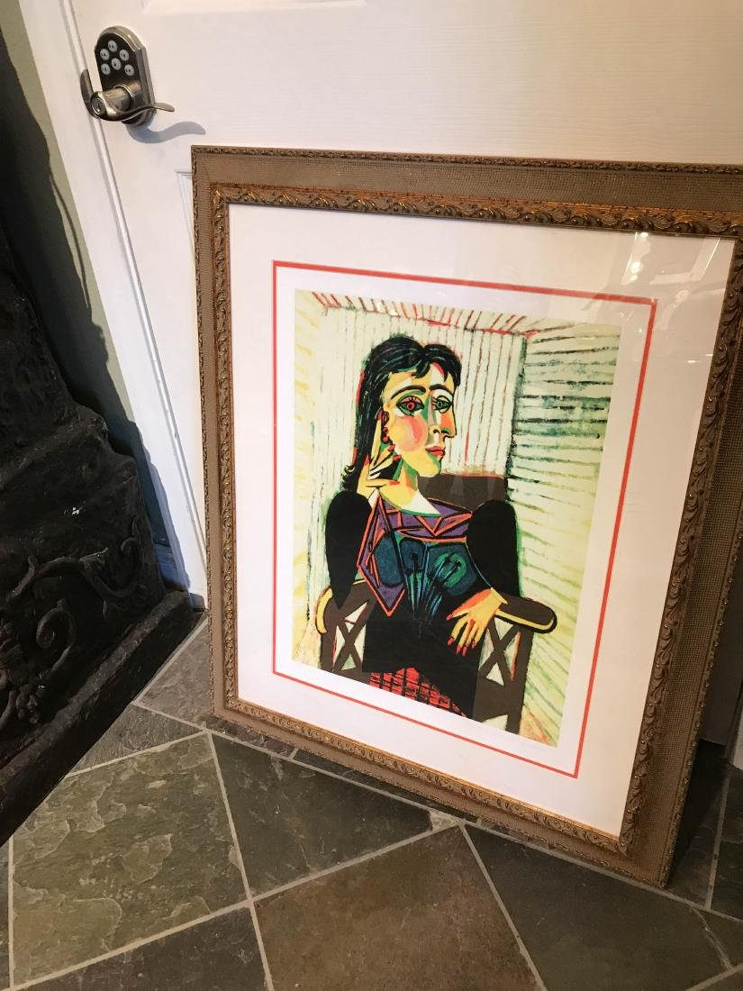 """""""Portrait of Dora Naar Seated"""" Print by Picasso - 9"""