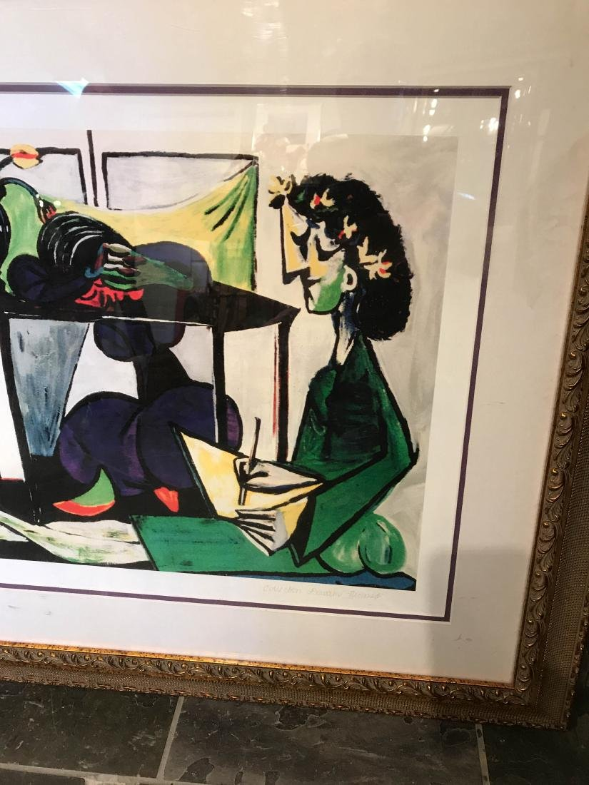 """Interior with Girl Drawing"" Print by Picasso - 2"