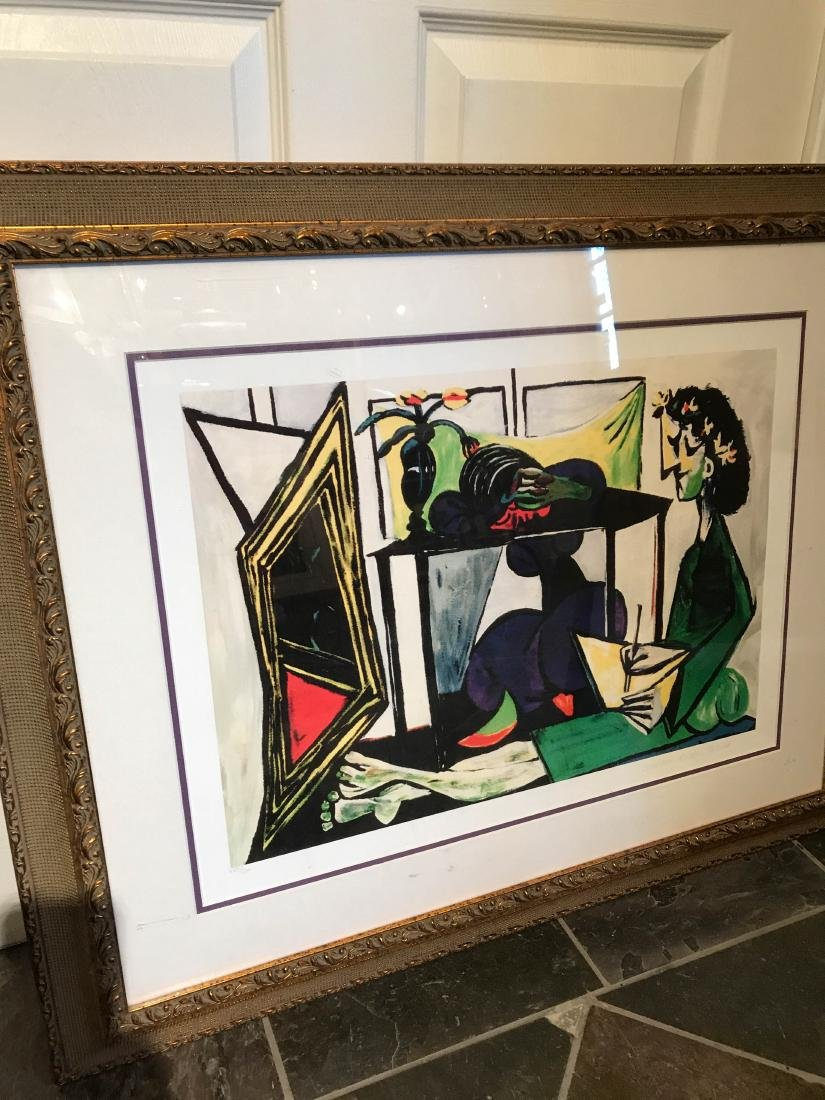 """Interior with Girl Drawing"" Print by Picasso - 5"