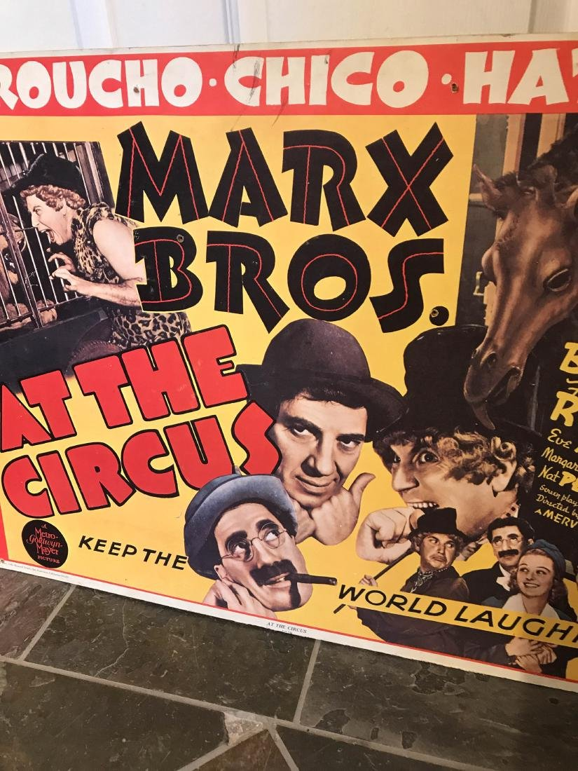 Marx Brox. At the Circus Poster on Hardboard - 2