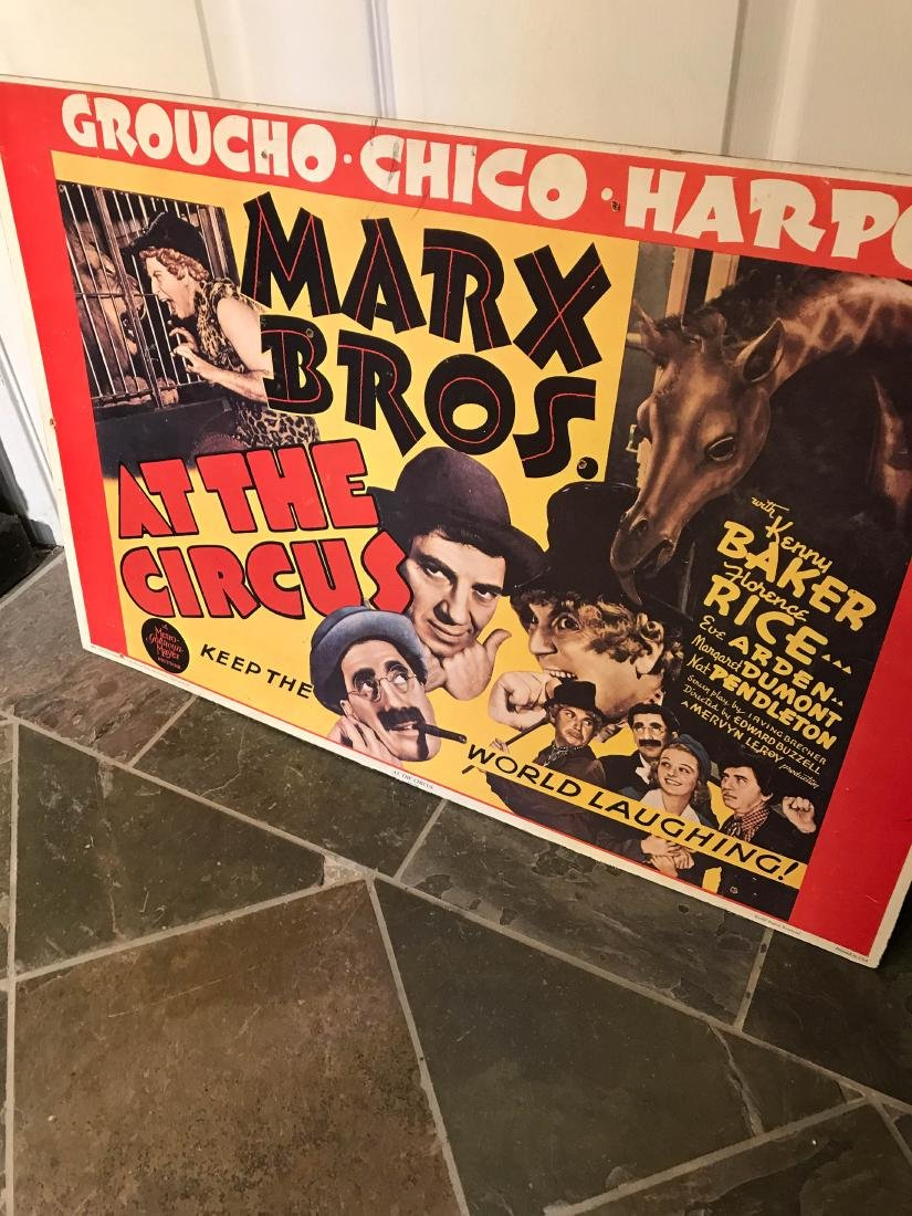 Marx Brox. At the Circus Poster on Hardboard - 9
