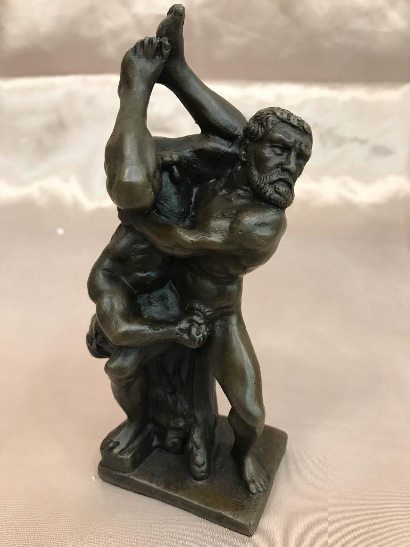 Erotic Bronze Statue of Two Men
