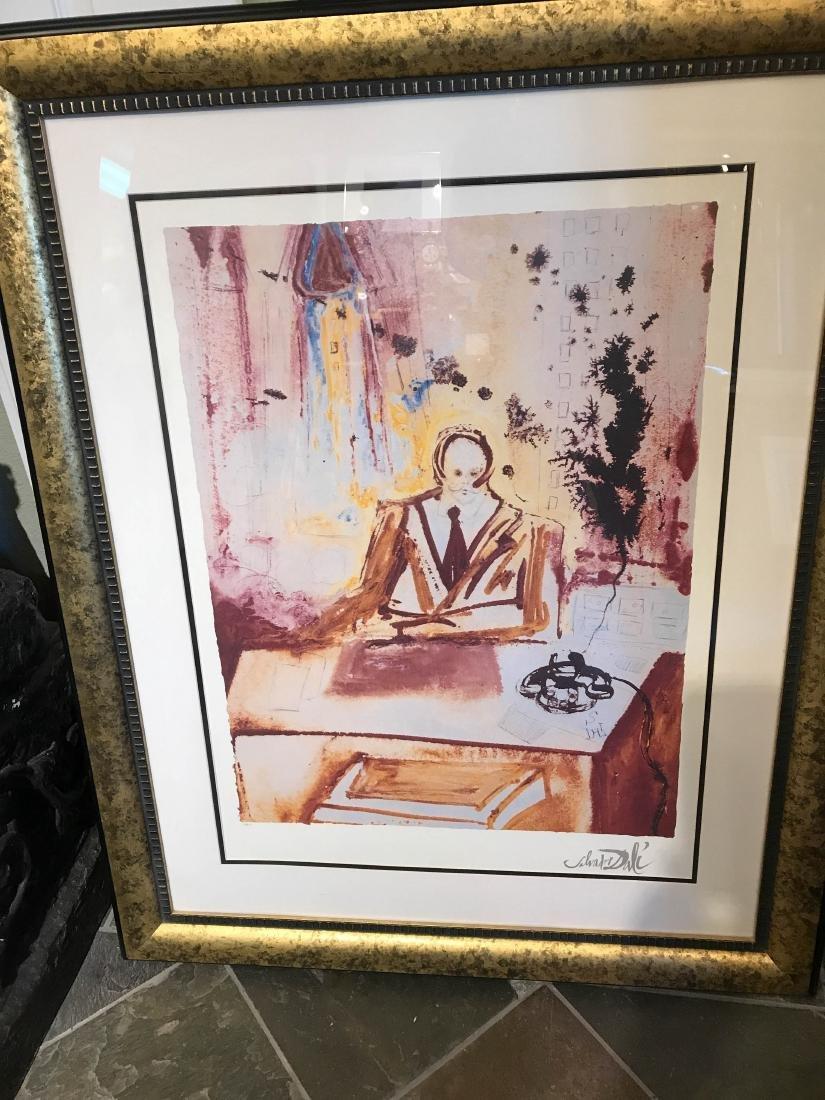 """Business Man"" Lmd. Ed. Print by Salvador Dali"