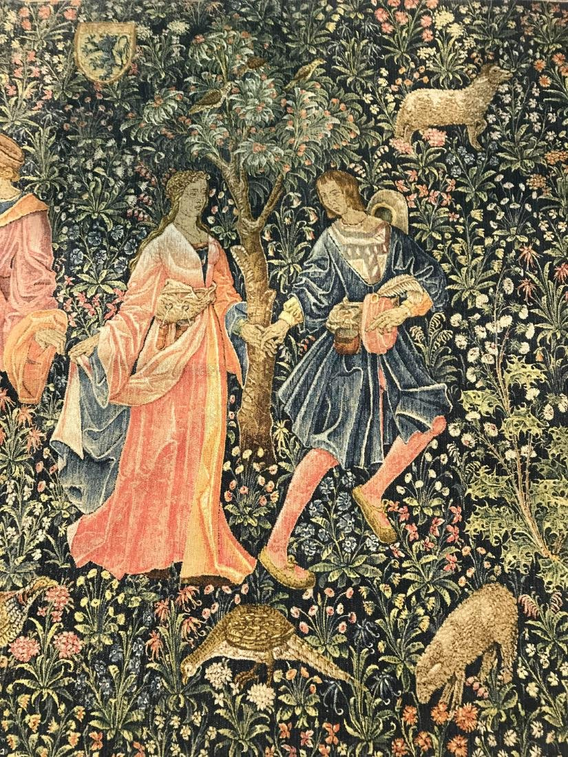 French Renaissance Style Tapestry - 2