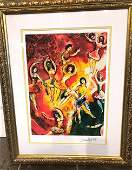 """""""Triumph of Music"""" Print by Marc Chagall"""