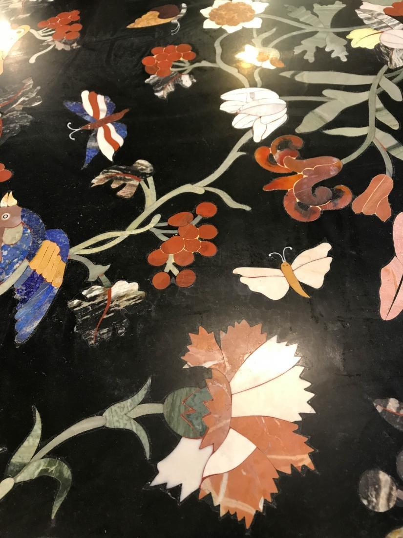 Magnificent Mosaic Table Pietra Dura - 10