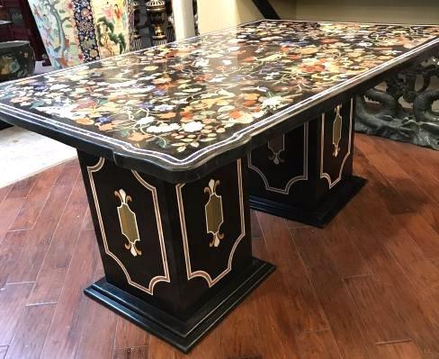 Magnificent Mosaic Table Pietra Dura