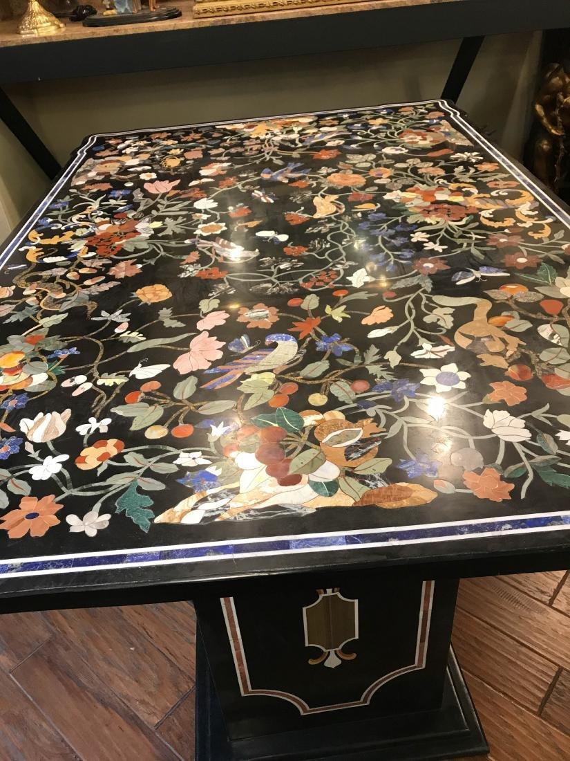 Magnificent Mosaic Table Pietra Dura - 2