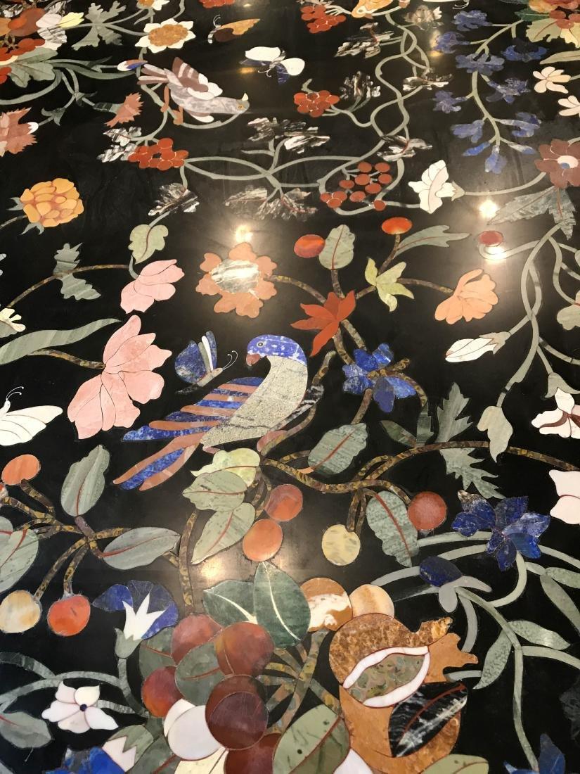 Magnificent Mosaic Table Pietra Dura - 3