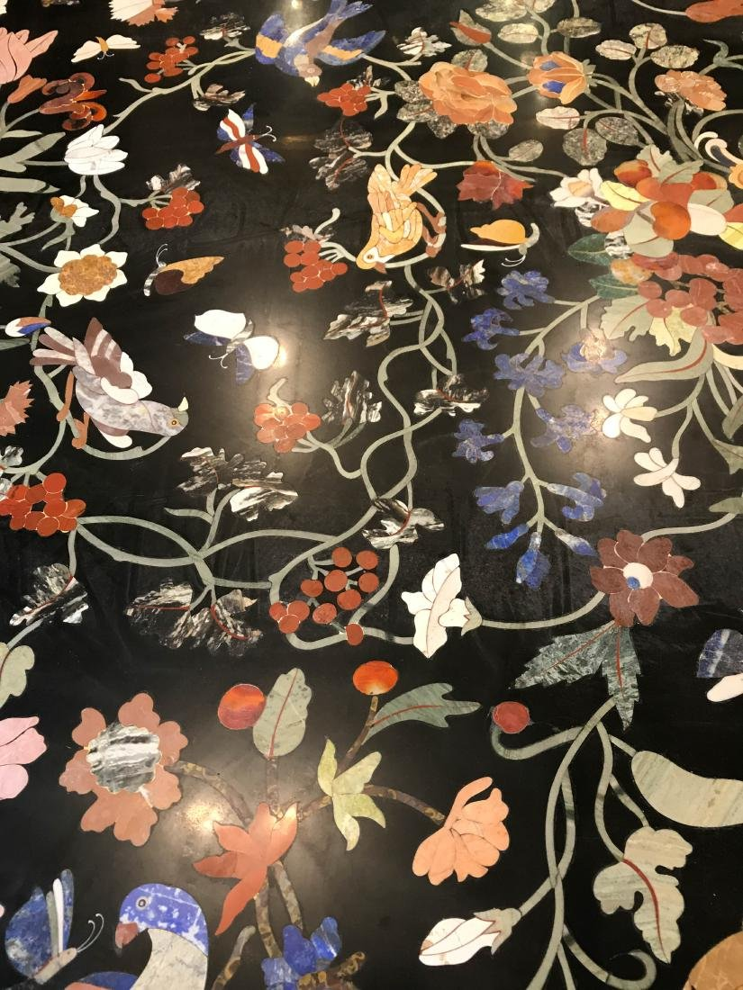 Magnificent Mosaic Table Pietra Dura - 4