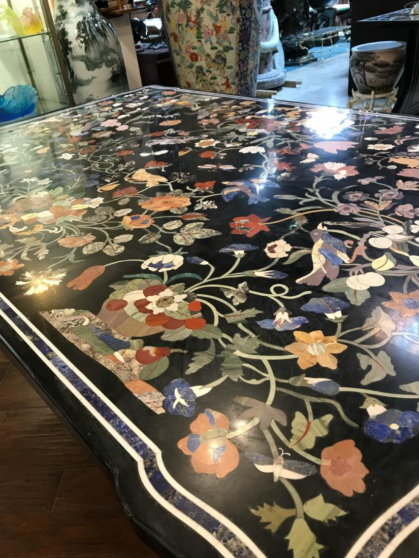 Magnificent Mosaic Table Pietra Dura - 7