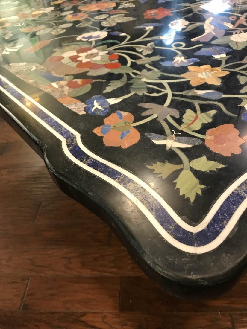 Magnificent Mosaic Table Pietra Dura - 8