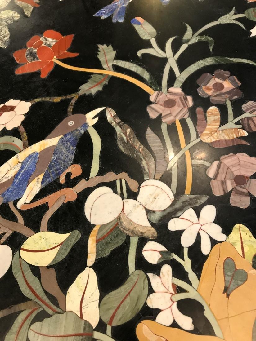 Magnificent Mosaic Table Pietra Dura - 9