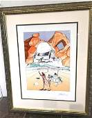 The Pat of Wisdom Lmd Ed Print by Salvador Dali