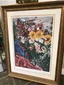 Les Soucis Lmd Ed Print by Marc Chagall