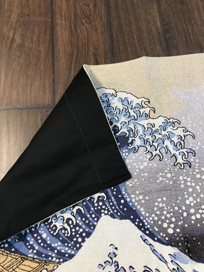 Tapestry Depicting Scene of Japanese Tsumani - 5