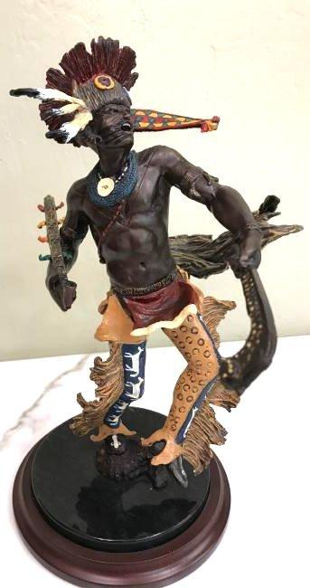 """Spirit of the Horseman"" Bronze Statue by Franklin Mint"