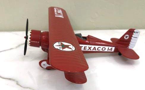 Collector's Texaco Metal Airplane Bank