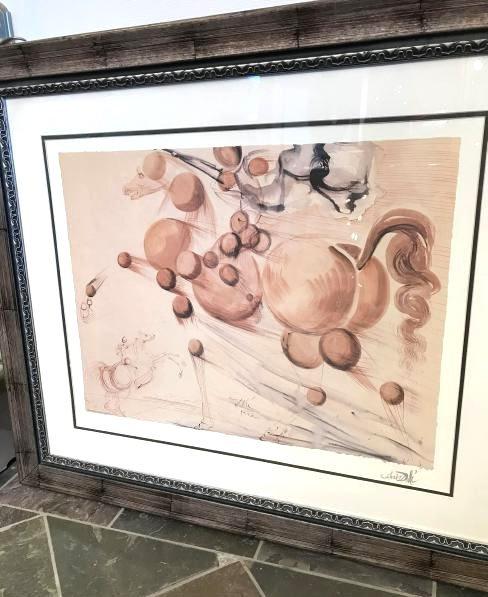 """""""Surreal Horse"""" Lmd. Ed. Print by Salvador Dali, Framed"""