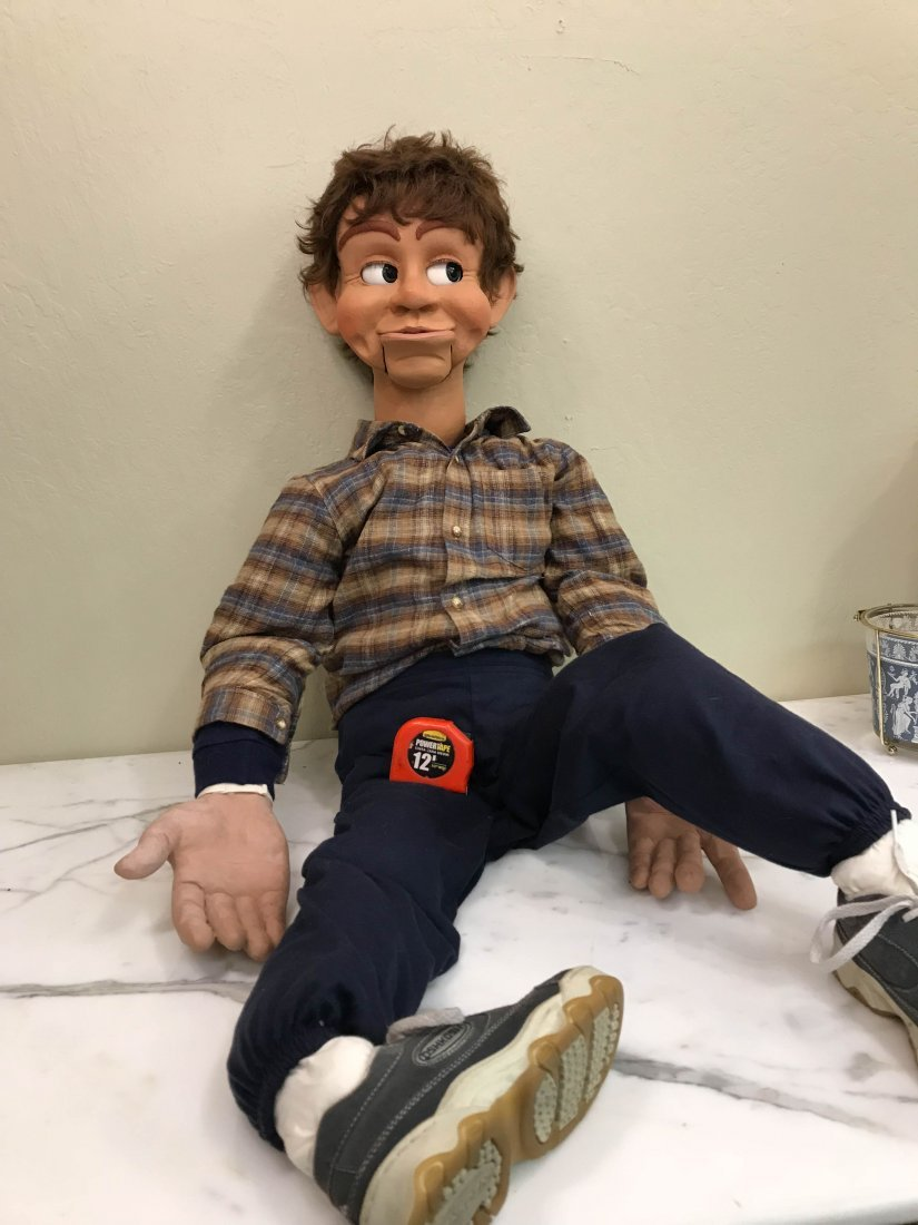 Vintage Ventriloquist Dummy w/ Realistic Features - 10
