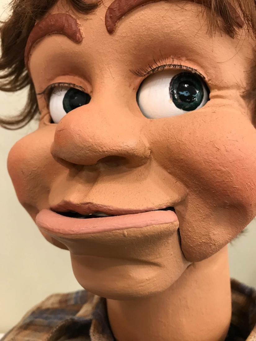Vintage Ventriloquist Dummy w/ Realistic Features - 7