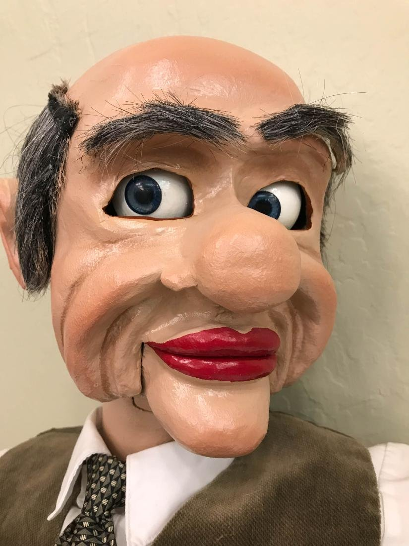 Vintage Ventriloquist Dummy w/ Realistic Features - 8