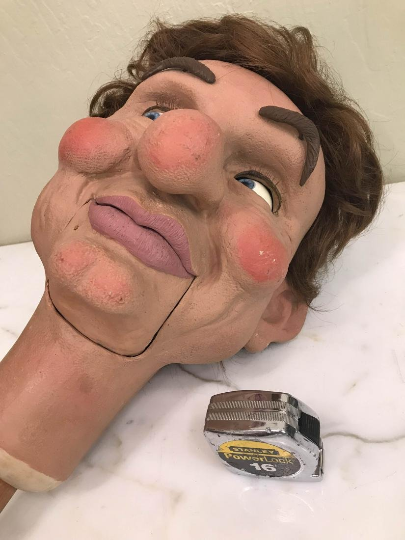 Realistic Looking Ventriloquist Dummy Head - 10