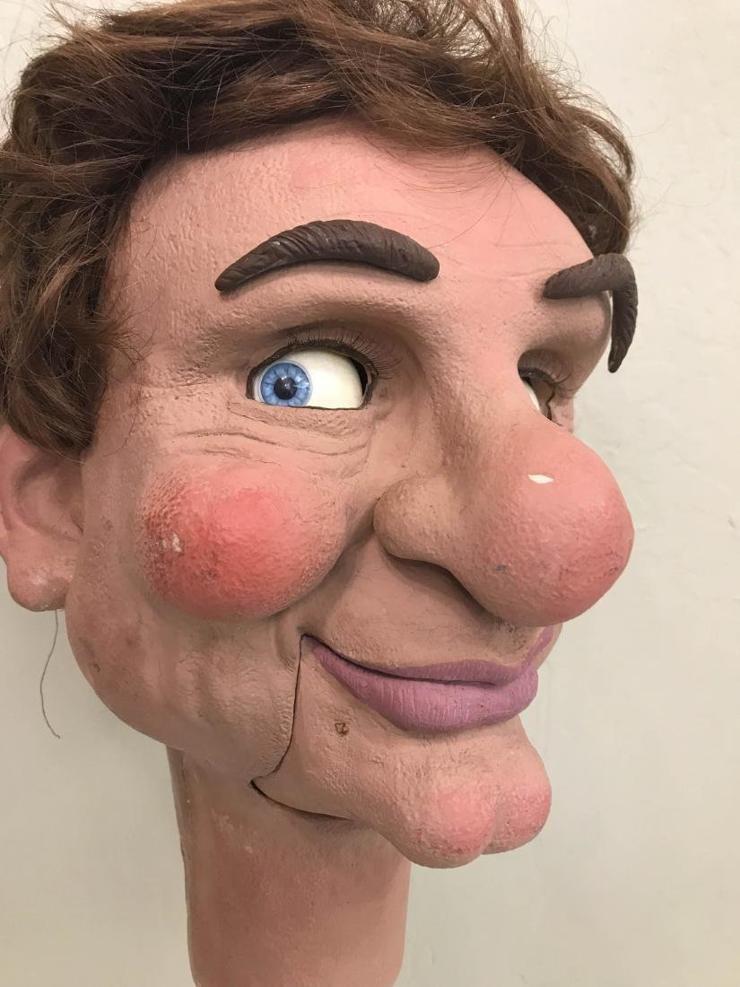 Realistic Looking Ventriloquist Dummy Head - 2