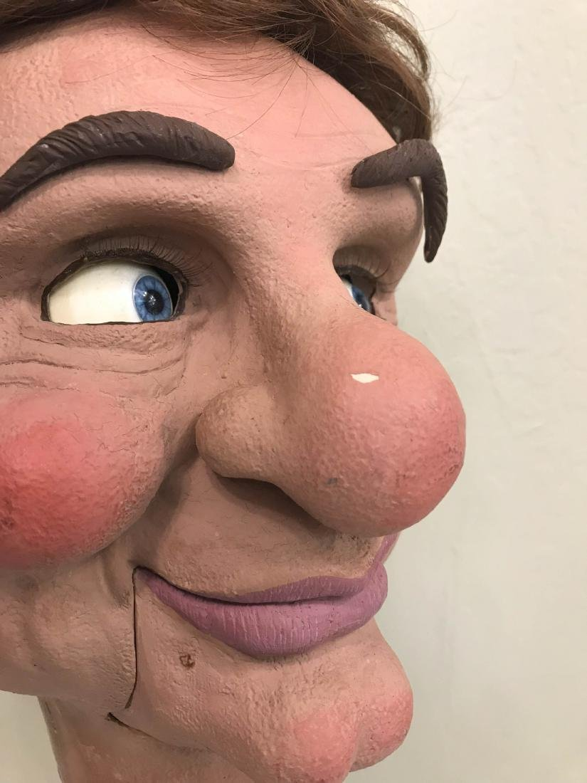 Realistic Looking Ventriloquist Dummy Head - 5