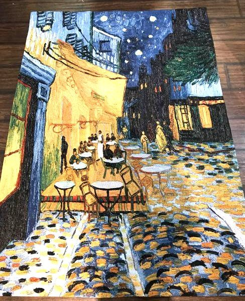 Van Gogh Evening Street Scene Tapestry
