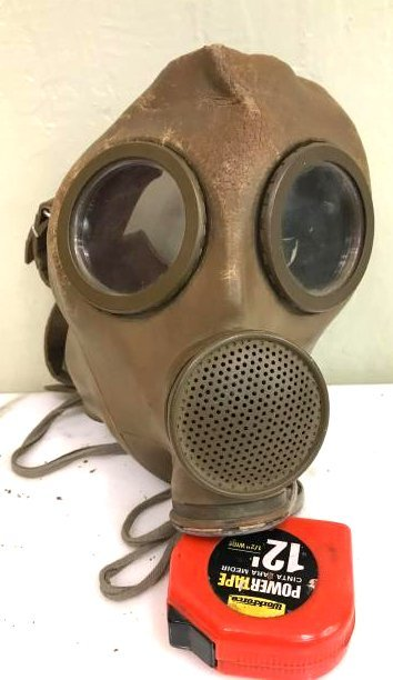 Vintage Gas Mask for Children, Babies