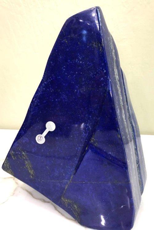 Polished Lapis Lazuli Self-Standing Boulder