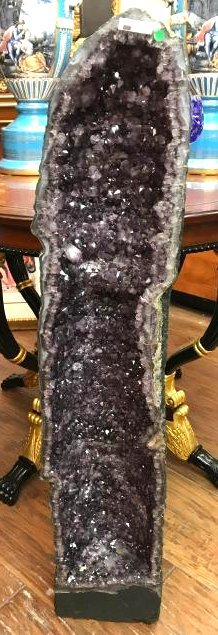 Amethyst Crystal Cathedral Geode from Brazil