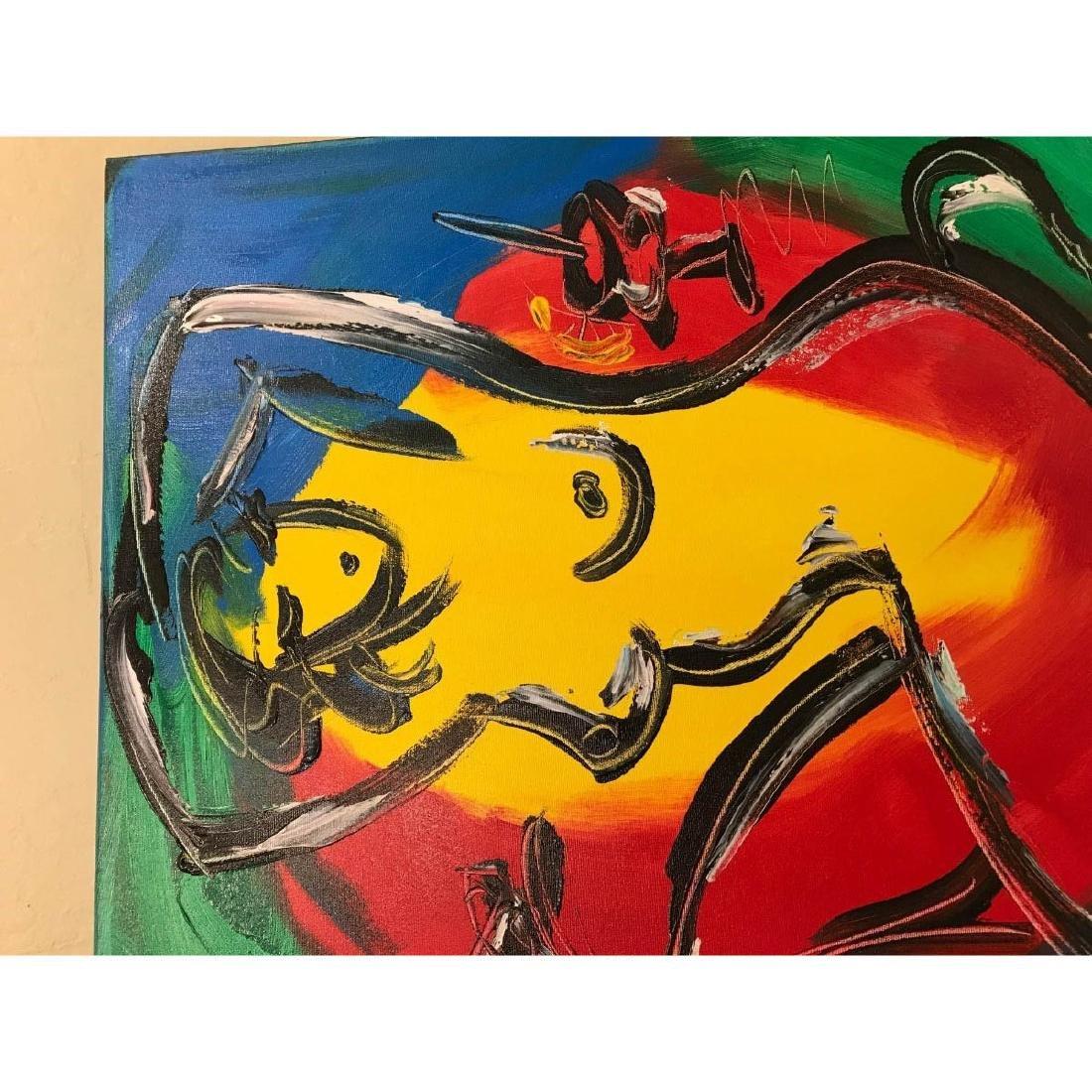 """Oil on Canvas """"Nude Music"""" by Mark Kazav - 2"""