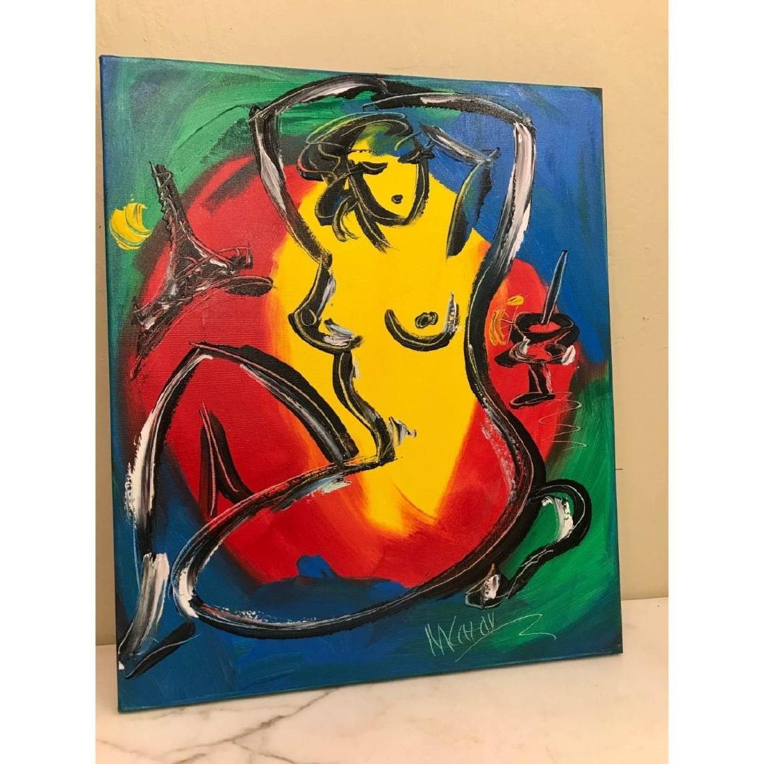"""Oil on Canvas """"Nude Music"""" by Mark Kazav - 3"""