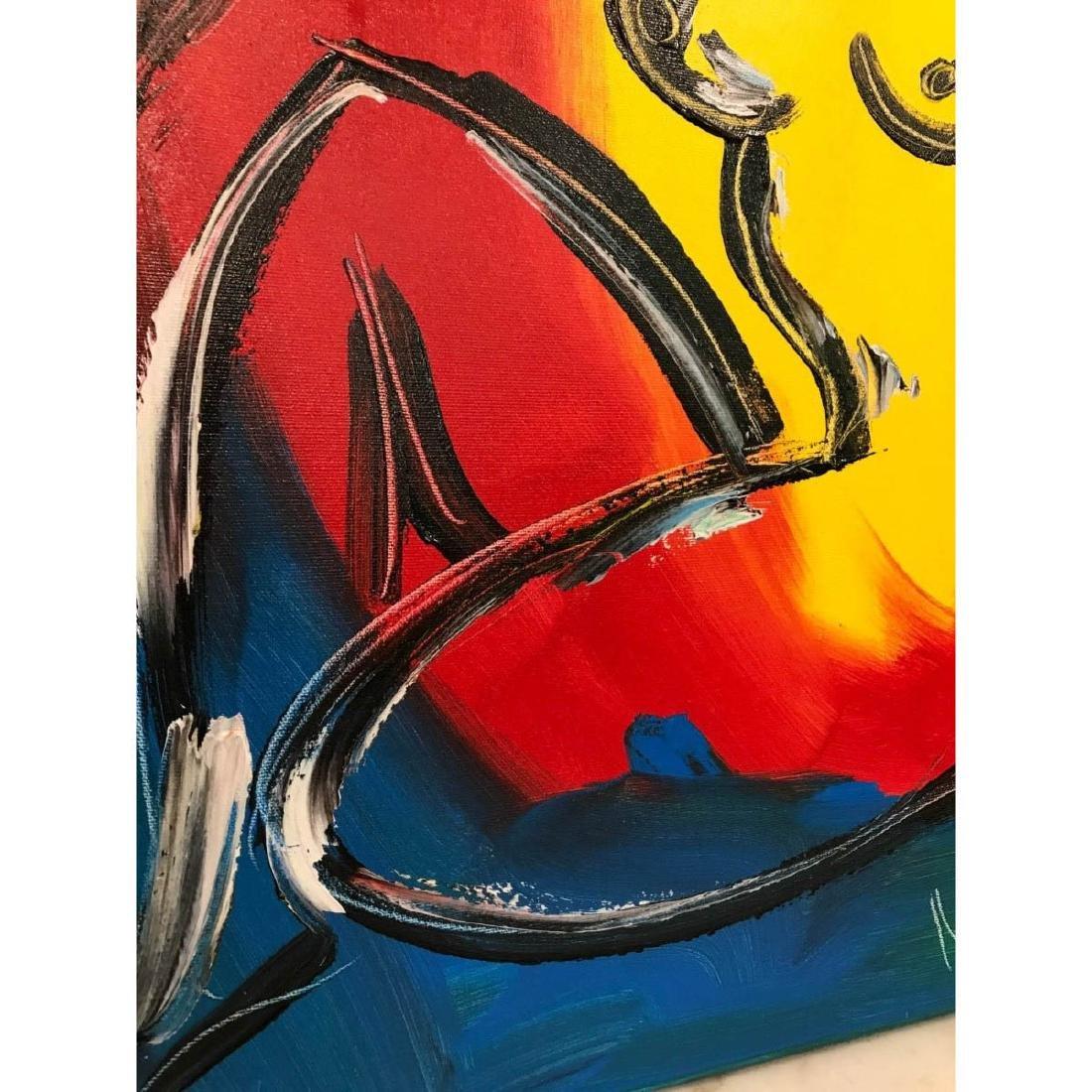 """Oil on Canvas """"Nude Music"""" by Mark Kazav - 7"""