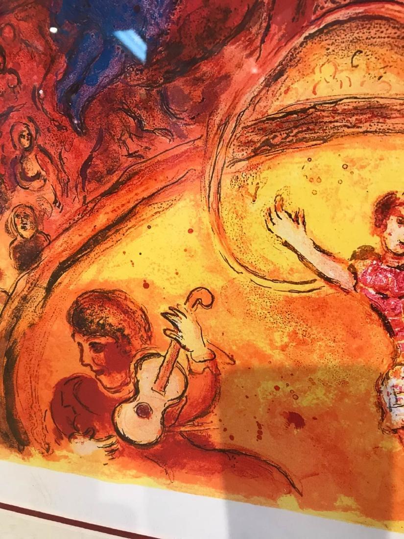 """Circus"" Marc Chagall Print, Framed - 9"