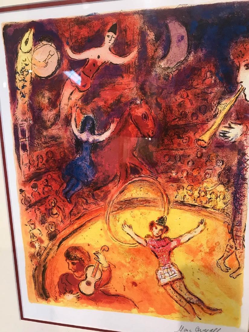 """Circus"" Marc Chagall Print, Framed - 2"