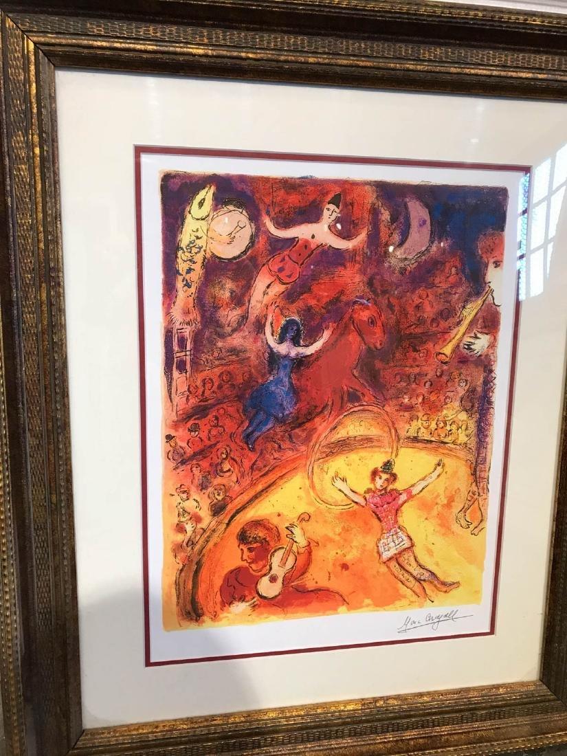 """Circus"" Marc Chagall Print, Framed - 4"