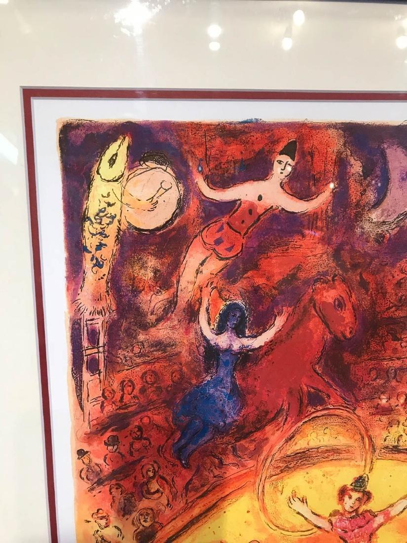 """Circus"" Marc Chagall Print, Framed - 5"