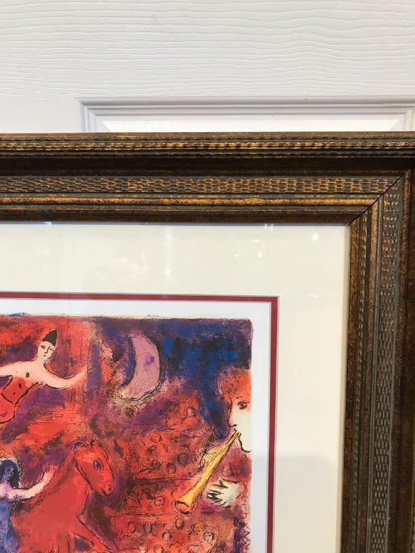 """Circus"" Marc Chagall Print, Framed - 8"