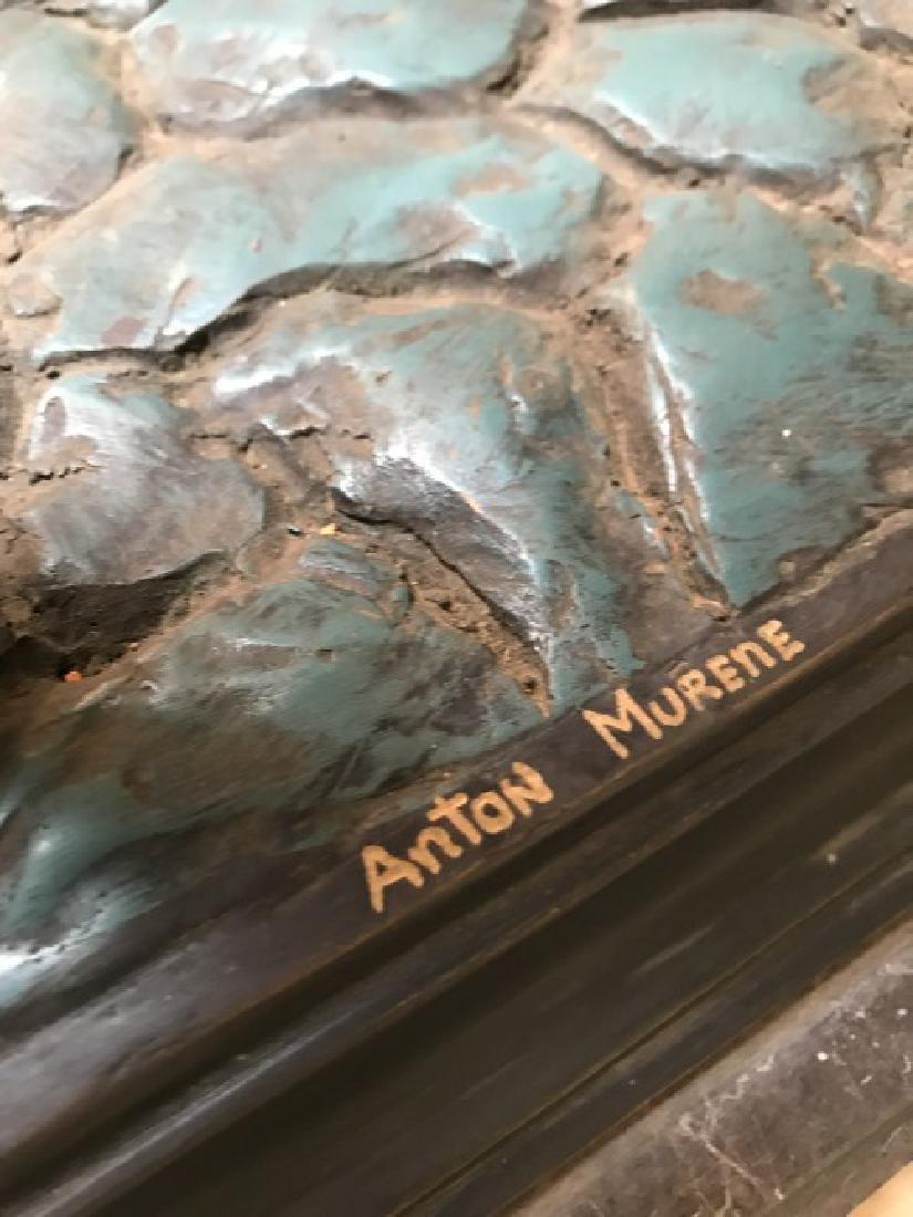 Bronze Statue of Boy w/ Book by Anton Murene - 6