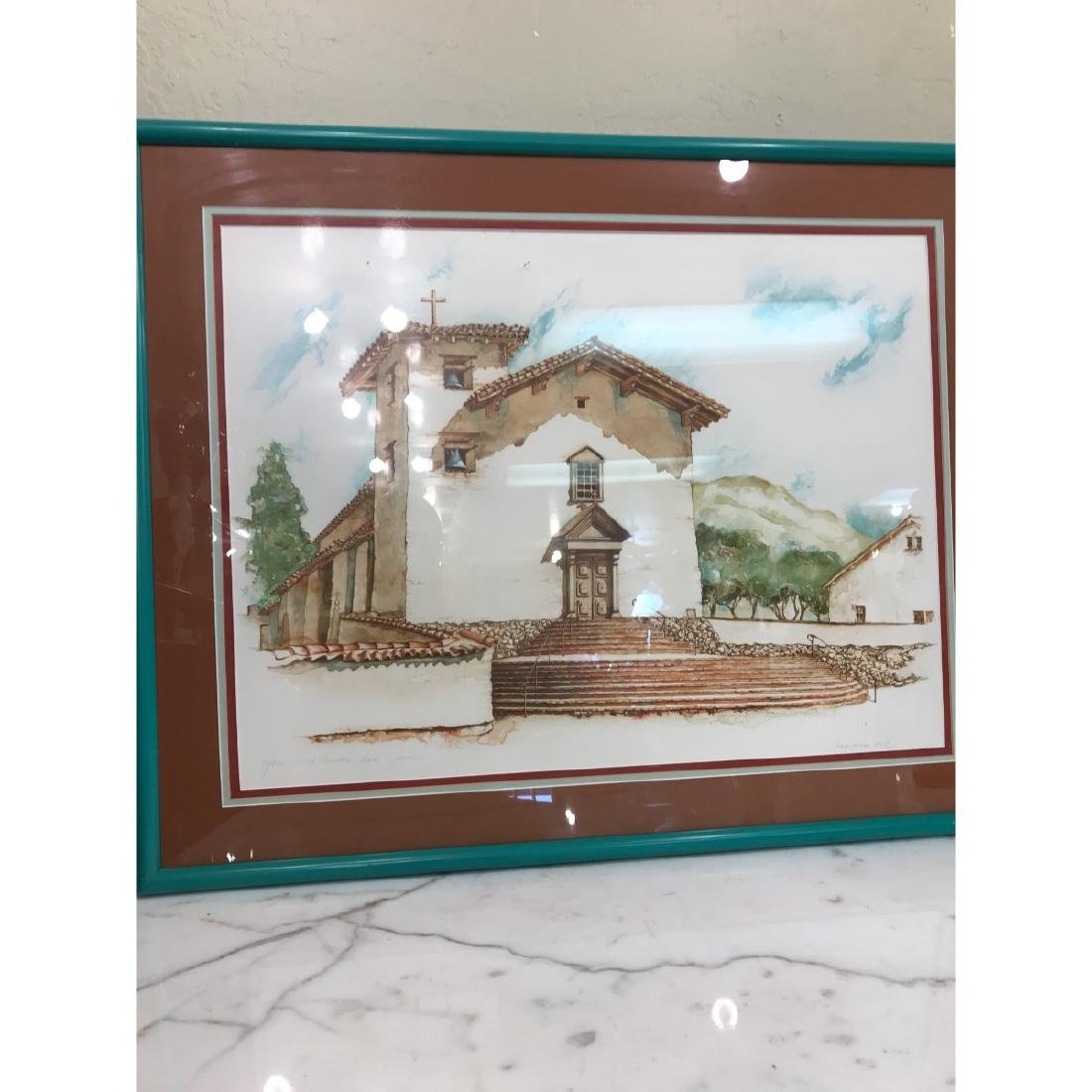 Old Mission San Jose Limited Edition Print by Maginnis