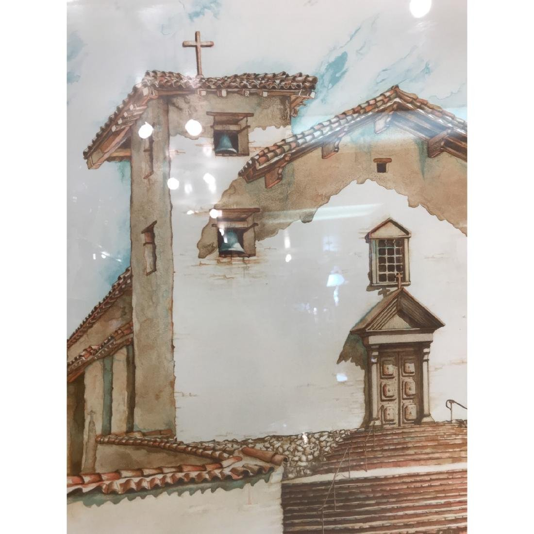 Old Mission San Jose Limited Edition Print by Maginnis - 2