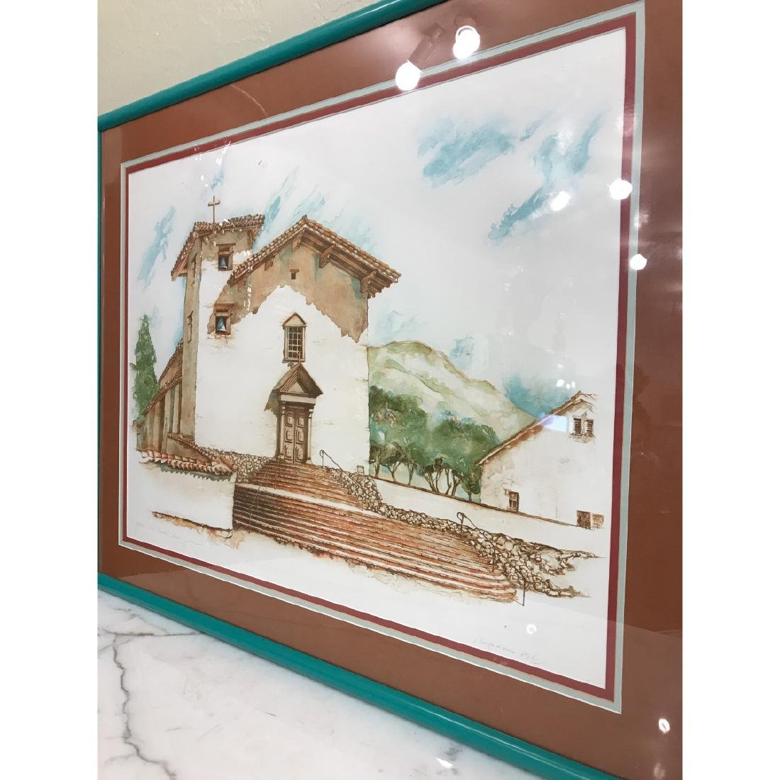 Old Mission San Jose Limited Edition Print by Maginnis - 3
