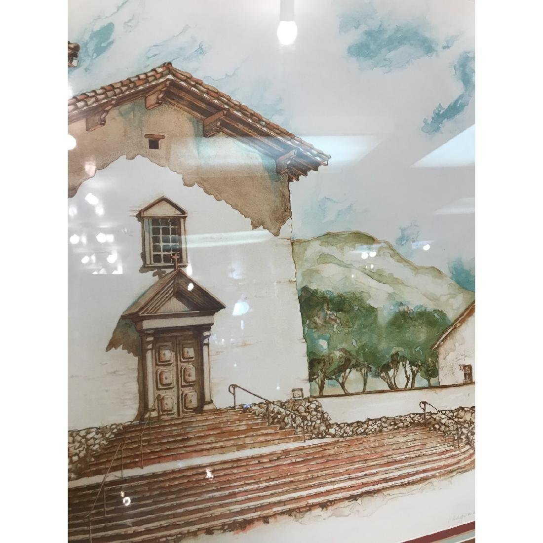 Old Mission San Jose Limited Edition Print by Maginnis - 7