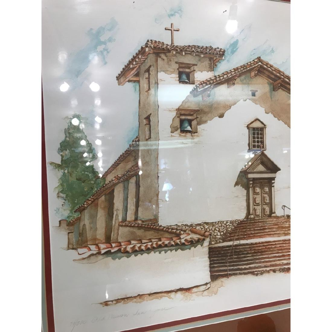Old Mission San Jose Limited Edition Print by Maginnis - 8