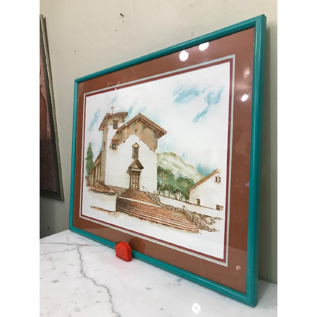 Old Mission San Jose Limited Edition Print by Maginnis - 9